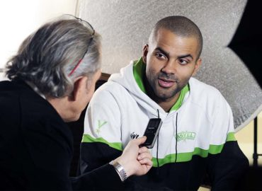 France Médias International interview Tony Parker